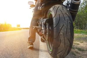 Auch für Motorräder ist die Reifenkennzeichnung von Bedeutung.