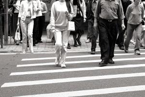 Rote Ampel nicht beachtet: Punkte können auch an Fußgänger verteilt werden, wenn diese mehrfach auffallen.