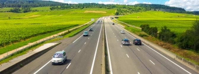 In Rumänien ist die Autobahn gebührenpflichtig.