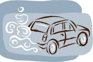 Luftverschmutzung durch einen Schadstoff wie Feinstaub: Euro-2-Fahrzeuge dürfen die meisten Umweltzonen nicht befahren.