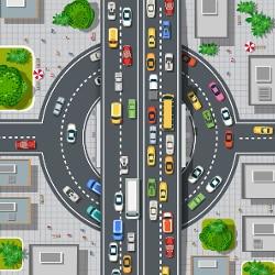 Missachten Sie ein Schild, das einen Kreisverkehr ankündigt, und behindern dadurch den Verkehr, drohen Sanktionen.