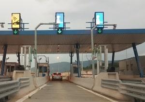 Serbien: Auf der Autobahn ist eine Maut zu bezahlen.