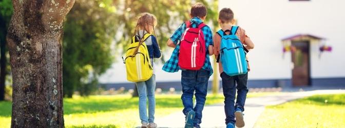 Ein sicherer Schulweg ist nicht immer auch die kürzeste Strecke.