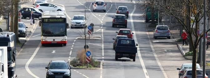 Viele Städte haben für den regionalen Verkehr bereits eine Busspur eingerichtet, um die Situation auf den Straßen zu entlasten.