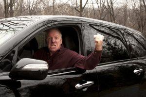 Stress beim Autofahren ist vielen nicht unbekannt.