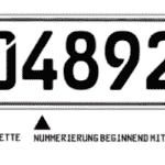 Das Tageskennzeichen trägt seinen Namen, weil es längstens für fünf Tage gültig ist.