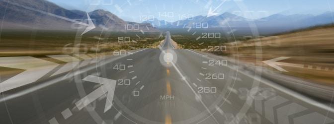 Temposünder sorgen für unnötige Gefahren im Straßenverkehr.