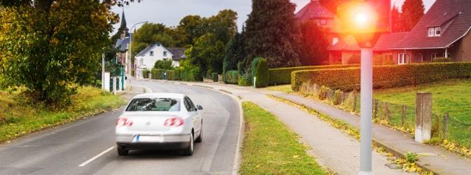 Der TRUVELO M4² ist vielseitig bei der Geschwindigkeitsmessung einsetzbar.