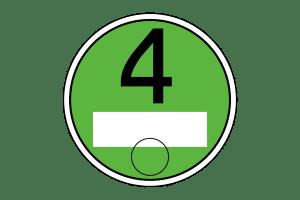 umweltplakette-4 gruen