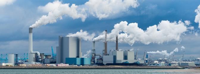 Die Umweltplakette soll die hohe Luftverschmutzung reduzieren.