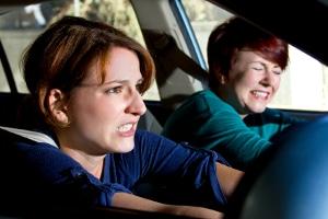 Ein Unfall bei der Probefahrt kann schlimmstenfalls sehr teuer werden.