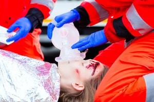 Ein Unfall mit einem Kind hat meist schwerwiegende gesundheitliche Folgen.