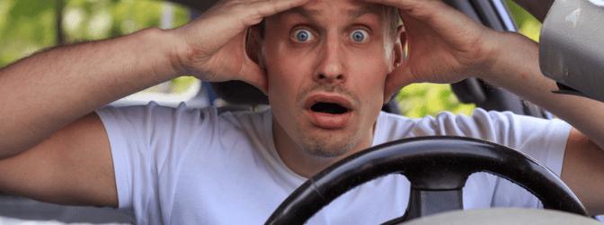 Unfall ohne Führerschein - und nun?