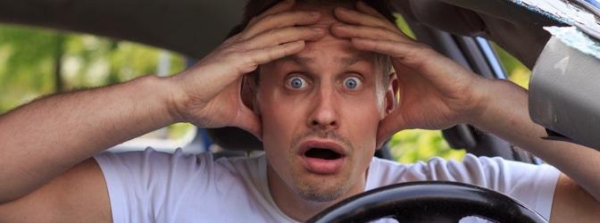 Was droht bei einem Unfall, wenn die Vorfahrt genommen wurde?