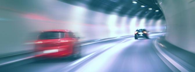Der VDS-Blitzer M5 Speed kann mit Infrarotblitzer ausgerüstet auch in Tunneln zum Einsatz kommen.