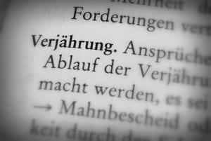 Die Frist für die Verjährung  in der Schweiz ist im Strafgesetzbuch festgehalten.