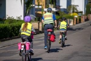 Verkehrserziehung in der Grundschule: In der 4. Klasse steht meist der Fahrradführerschein auf dem Lehrplan.