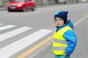 Die Verkehrserziehung trägt zur Verkehrssicherheit der Kinder bei.