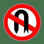 Verkehrszeichen 272 Verbot des Wendens
