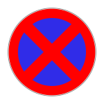Verkehrszeichen 283 Absolutes Halteverbot