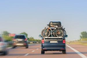 Überladungen des Gepäcks auf Wohnmobilreisen können Sie in die Bußgeldfalle tappen